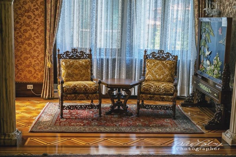 Office  Ceaușescu mansion, Bucharest