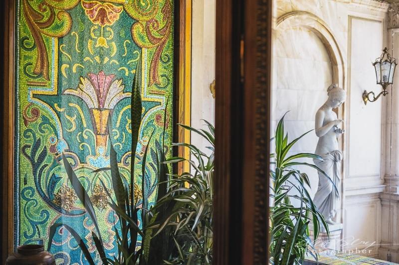 Mosaic Tile Ceaușescu mansion, Bucharest