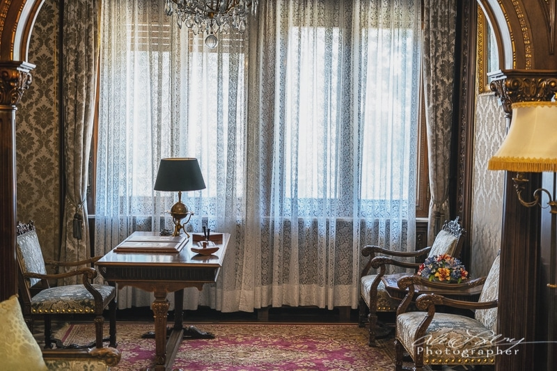 Interior  Ceaușescu mansion, Bucharest