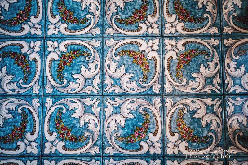 Floor Tile,  Ceaușescu mansion, Bucharest